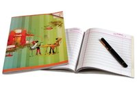 Double Ruled Notebook
