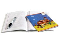 Four Ruled Notebook For School Kids