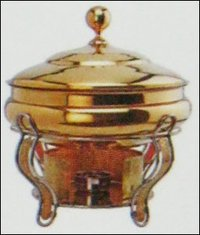 Brass Handi Chafing Dish