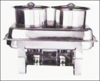 Double Soup Chafing Dish