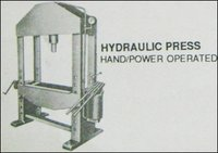 Hand/Power Operated Hydraulic Press