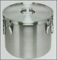 Stainless Steel Food Container (Stock Pot)