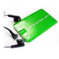 Credit Card Shape MP3 Player