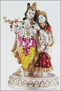 Designer Radha And Krishna Idol