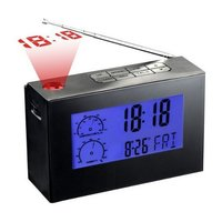 Radio Clock With Talking Projection Clock