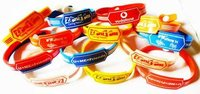Silicone Wrist Bands - Bracelet
