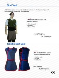 Lead Apron Skirt Vest