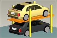 Double Deck Valet Car Parking System