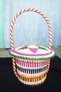 Palm Leaf Kitchen Hanging Baskets