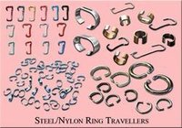 Steel And Nylon Ring Travelers