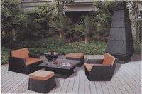Outdoor Modern Rattan Sofa