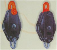 Single And Double Wire Rope Pulley