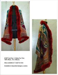 Fur Trim Shawls