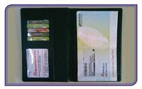 Pure Leather Cheque Book Holder