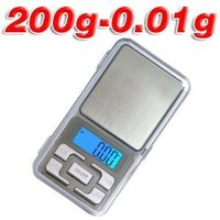 Pocket Jewellery Scales 200 Gm / 10 Mg