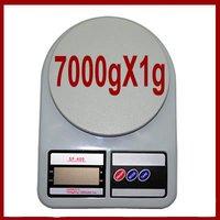 Portable Digital Kitchen Scales 7 Kg / 1gm- Sf - 400