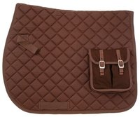 Heavy Quilted Fabric Saddle Pad