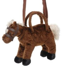 Plush Horse Shoulder Bag