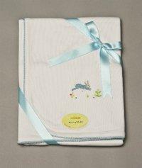 Sweet Bunny Receiving Blanket