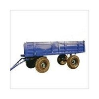 Four Wheel Non Tipping Tractor Trailer