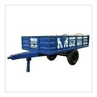 Two Wheel Non Tipping Tractor Trailer