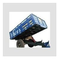 Two Wheel Tipping Tractor Trailer