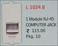 Rj-45 Module 1- L 1024 B
