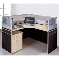 L Shape Modular Workstations