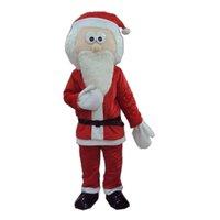 Christmas Santa Claus Mascot Costume