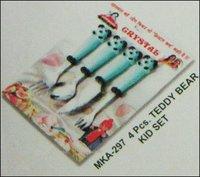 Teddy Bear Spoon Kid Set - Mka 297