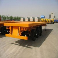 Low Bed Container Trailer