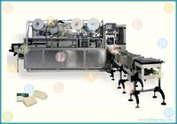 Automatic High Speed Toilet Soap Paper Wrapping Machine