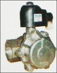2 Way Piston Type Steam Solenoid Valve