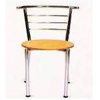 Steel Frame Cafe Chair