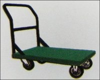 Single Upright Push Platform Trolley