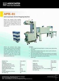 Semiautomatic Shrink Wrapping Machine