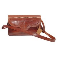 Embroided Ladies Leather Bags