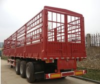 3 Axles High Coloumn Cargo Trailer