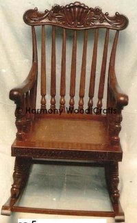 Wooden King Size Rocking Chair