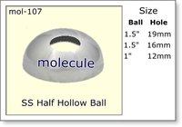 Stainless Steel Half Hollow Ball