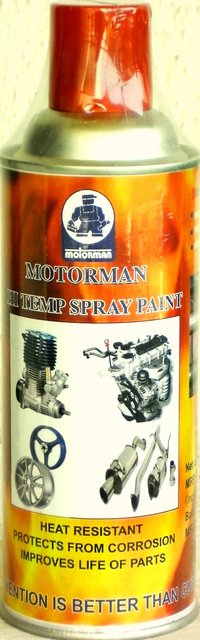 Hi Temp Spray Paint