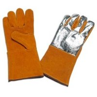 Leather Heat Resistant Split Palm Glove