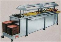 Buffet Counter Cum Refrigerator