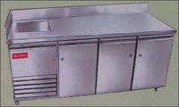 Table Top Refrigerator With Sink