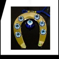 Evil Eye Horse Shoe - Strong Protection