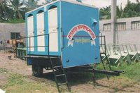 Six Seater Mobile Toilet Van
