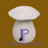 Toadstool Planters Landscaping
