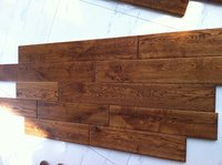 Hand Scraped Solid Oak Flooring