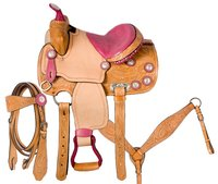 Kids Saddle Set