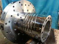 Hard Chrome Plating Service For Multiple Holes Spirals